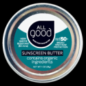 SPF 50+ Water Resistant Zinc Sunscreen Butter